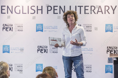 Jeanette Winterson launching her new book 'The Gap of Time'