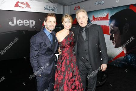 Zack Snyder, Deborah Snyder and Chuck Roven