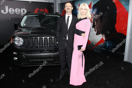 Stock Image of Scoot McNairy and Whitney Able