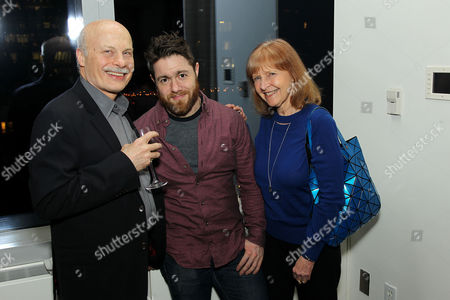 Jacob Bernstein (M) with guests
