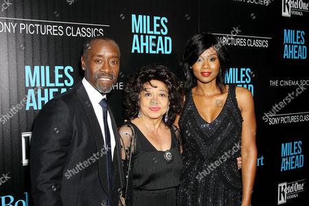 Don Cheadle, Frances Davis, Emayatzy Corinealdi