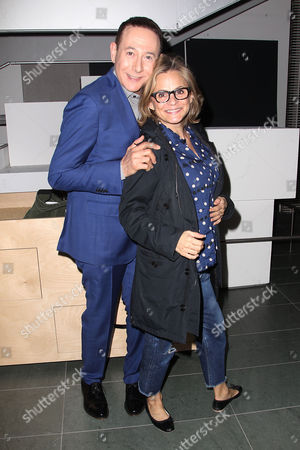 Paul Reubens and Amy Sedaris