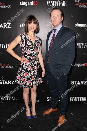 Stock Photo of Maya Kazan and guest