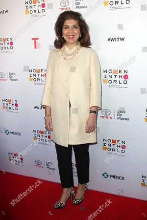 Editorial photo of Women in the World Summit, New York, America - 06 Apr 2016