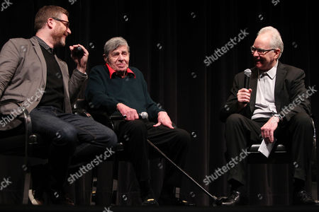 Daniel Noah (Director; Max Rose), Jerry Lewis and Dave Kehr (MoMA)