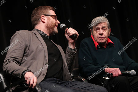 Stock Image of Daniel Noah (Director; Max Rose) and Jerry Lewis