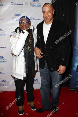 Spike Lee and John Starks