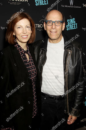 Matt Blank with wife