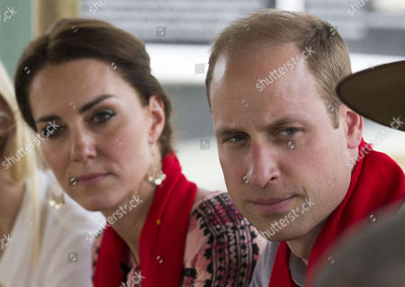 Catherine Duchess of Cambridge and Prince William visit the Mark Shand Foundation