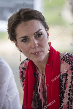 Catherine Duchess of Cambridge visits the Mark Shand Foundation