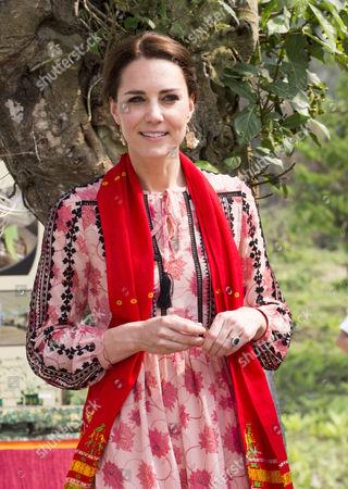Catherine Duchess of Cambridge visit the Mark Shand Foundation