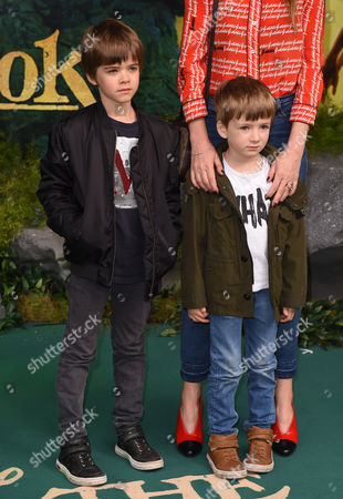 Stock Image of Donovan Gallagher and Sonny Gallagher
