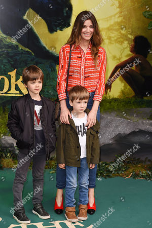 Sara MacDonald with sons Donovan Gallagher and Sonny Gallagher