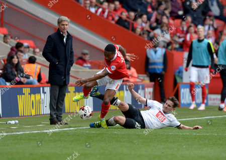 Editorial picture of Charlton Athletic v Derby County, Sky Bet Championship, Football, The Valley, London, Britain - 16 Apr 2016