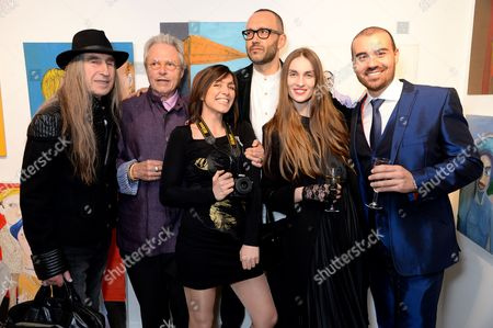Editorial image of 'State of Minds' Exhibition, London, Britain - 13 Apr 2016