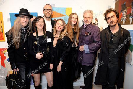 Michael Lindsay-Hogg, Glauco Della Sciucca and Guests