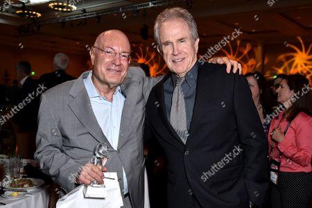 Arnon Milchan and Warren Beatty