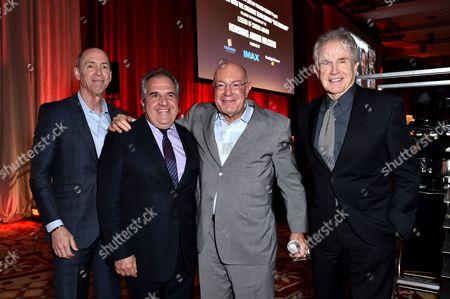 Chris Aronson, Jim Gianopulos, Arnon Milchan and Warren Beatty