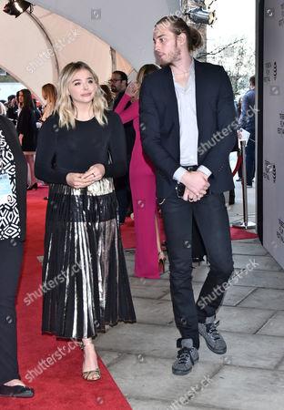 Chloë Grace Moretz and Trevor Duke-Moretz