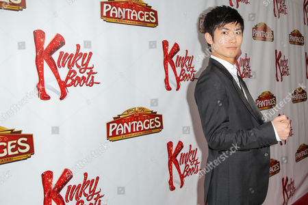Editorial image of 'Kinky Boots' play opening night, Pantages Theatre, Los Angeles, America - 13 Apr 2016
