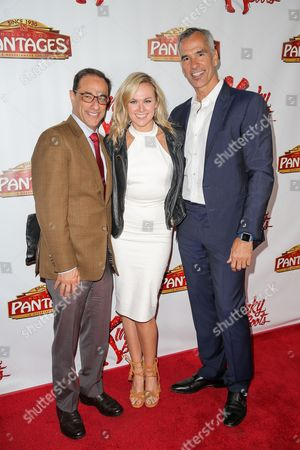 Editorial photo of 'Kinky Boots' play opening night, Pantages Theatre, Los Angeles, America - 13 Apr 2016