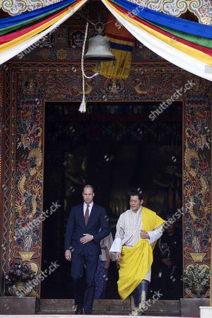 King Jigme Khesar Namgyel Wangchuck, Prince William, Thimphu Dzong