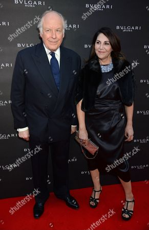 Stock Picture of Nicola Bulgari and Beatrice Bulgari
