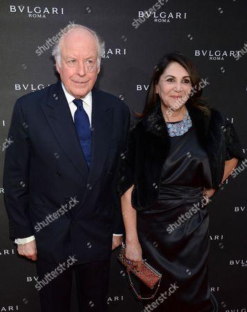 Nicola Bulgari and Beatrice Bulgari
