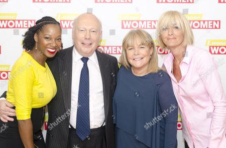 Jamelia, Julian Fellowes, Linda Robson, Jane Moore