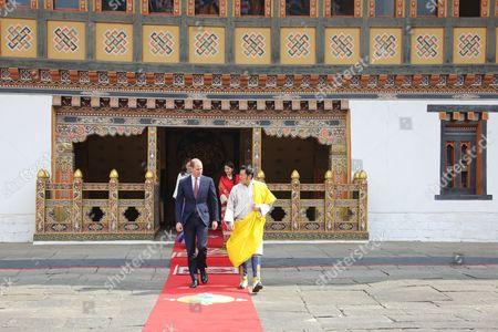 Prince William, King Jigme Khesar Namgyel Wangchuck, Thimphu Dzong