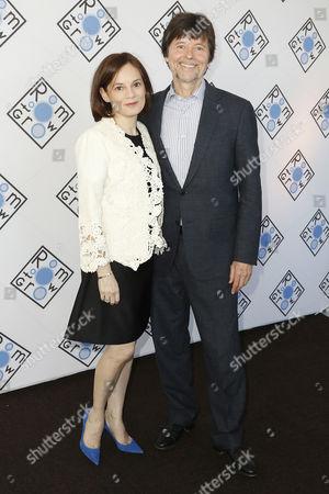 Stock Picture of Julie Deborah Brown and Ken Burns