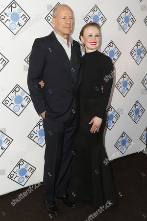 Bruce Willis and Allyson Crawford