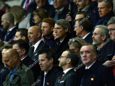 Alan Hansen looks on from the stand during the UEFA Europa League Quarter Final Second Leg match between Liverpool and Borussia Dortmund played at Anfield, Liverpool on April 14th 2016