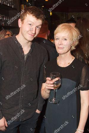 Tom Varey (Green-Eyes) and Geraldine Alexander (Director)