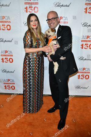 Stock Picture of Drew Barrymore and Matthew Bershadker