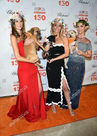 Allie Rizzo, Jessica Schuster, Georgina Bloomberg