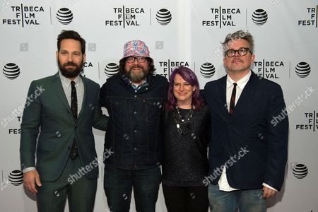 Editorial photo of 'Nerdland' premiere, Tribeca Film Festival, New York, America - 14 Apr 2016