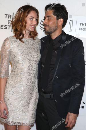 Stock Photo of Melissa Molson and Carlos Velazquez