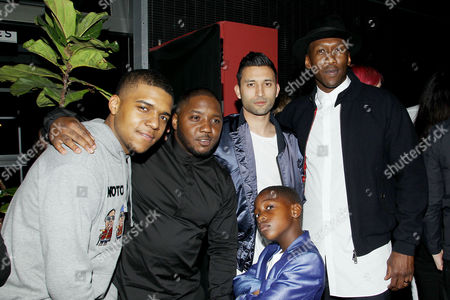 Stock Picture of Christopher Jordan Wallace, Lil' Cease, Justin Tipping, Mahersha