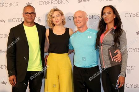 Editorial image of World of Cyberobics opening, Berlin, Germany - 14 Apr 2016