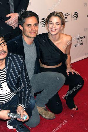 Stock Image of Gael Garcia Bernal and Justina Bustos