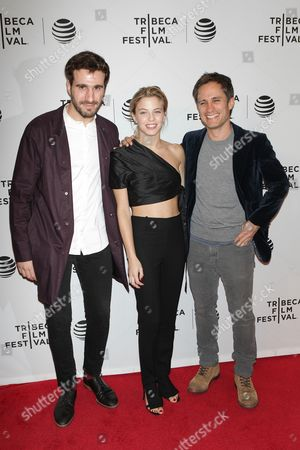 Stock Photo of Gael Garcia Bernal and Justina Bustos with guest