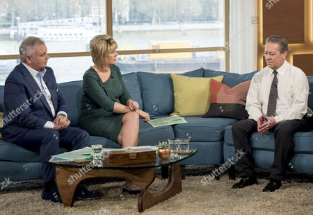 Eamonn Holmes and Ruth Langsford and Kenny Sansom
