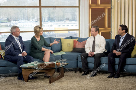 Editorial picture of 'This Morning' TV show, London, Britain - 15 Apr 2016