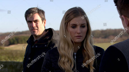 Emmerdale - Ep 7464 Thursday 31 March 2016 - 1st Ep Cain Dingle, Jeff Hordley, is annoyed Moira's given Charity and Ross permission to use the barn. Holly Barton, Sophie Powles, listens in and hears her mother calling her a liar. Cain forms a plan. Soon he tricks Holly into getting in the back of the van, where he locks her in and tells her to ring Dean, Craig Vye, as they're setting him up. On a secluded road they're soon joined by Dean and Cain offers him a deal, if he stays away from Holly. Will it work or will Cain's plan backfire?