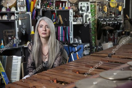 Editorial picture of Dame Evelyn Glennie photoshoot, Huntingdon, Britain - 30 Jun 2015