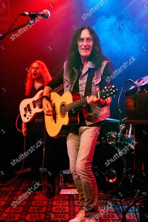 Editorial picture of Ken Hensley in concert at the 1865 club, Southampton, Britain - 13 Apr 2016