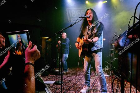 Editorial image of Ken Hensley in concert at the 1865 club, Southampton, Britain - 13 Apr 2016