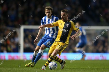 Editorial picture of Brighton and Hove Albion v Fulham, Sky Bet Championship - 15 Apr 2016