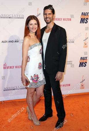 Anna Trebunskaya and Nevin Millan